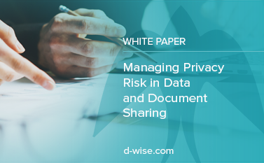 Managing Privacy Risk in Data and Document Sharing