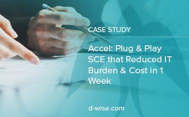 Accel: Plug & Play SCE