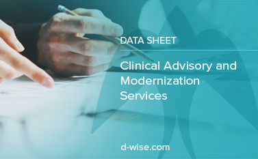 clinical advisory and modernization services