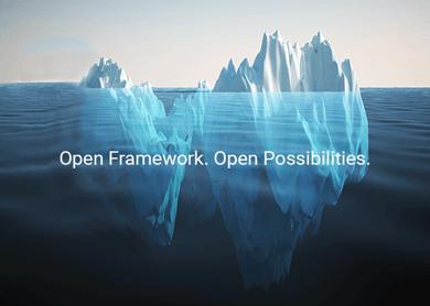 open framework iceberg