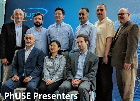 PhUSE Presenters in Hoboken