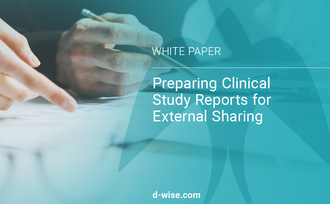 Preparing Clinical Study Reports for External Sharing