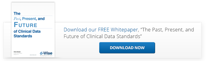 Past,Present,Future of Clinical Data Standards