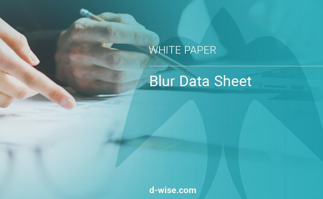 blur-data-sheet